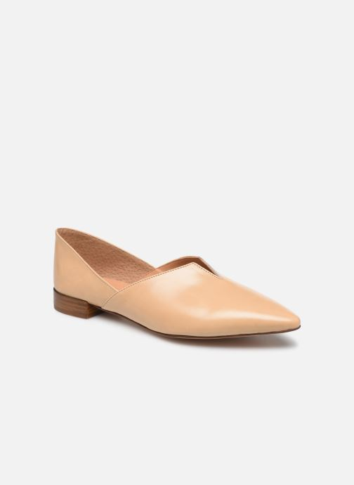 Bailarinas Made by SARENZA South Village Ballerine #2 Beige vista lateral derecha