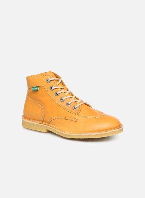 Bottines et boots Kickers Kick Legend E Jaune vue détail/paire