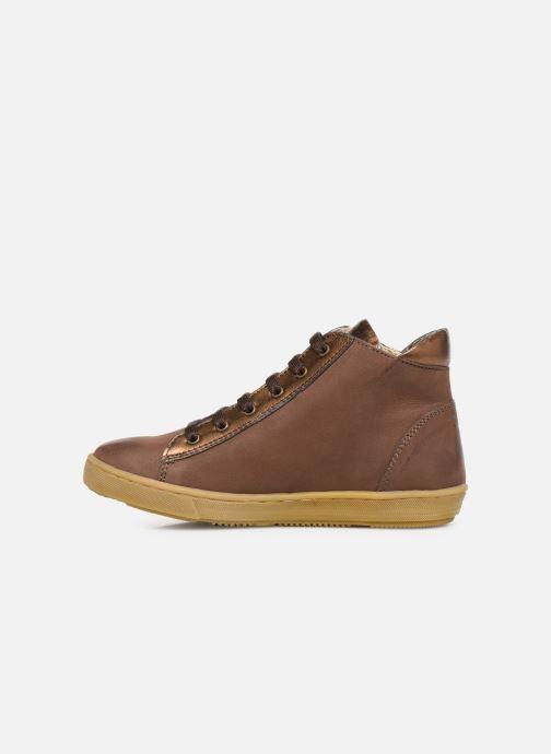 Sneakers Kickers Sirena 2 Brun se forfra