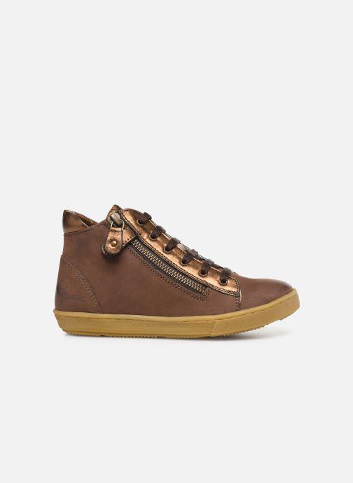 Sneakers Kickers Sirena 2 Brun se bagfra