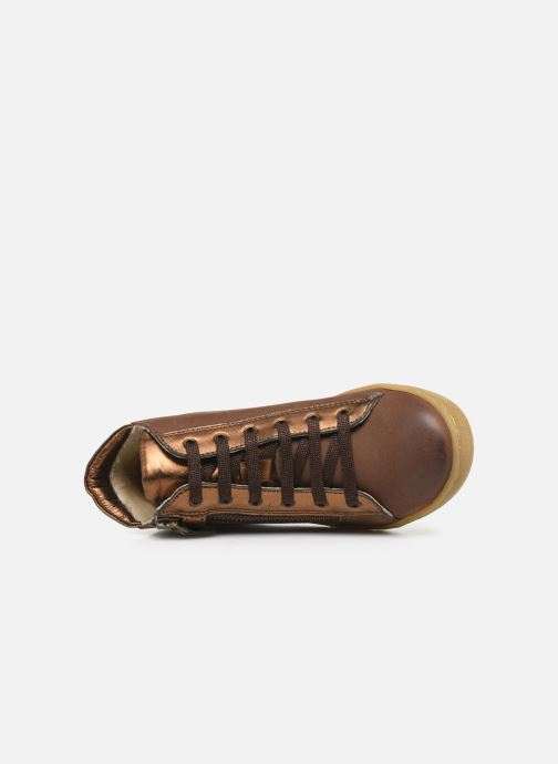 Sneakers Kickers Sirena 2 Brun se fra venstre