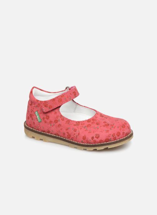 Ballerinaer Kickers Noaya Pink detaljeret billede af skoene