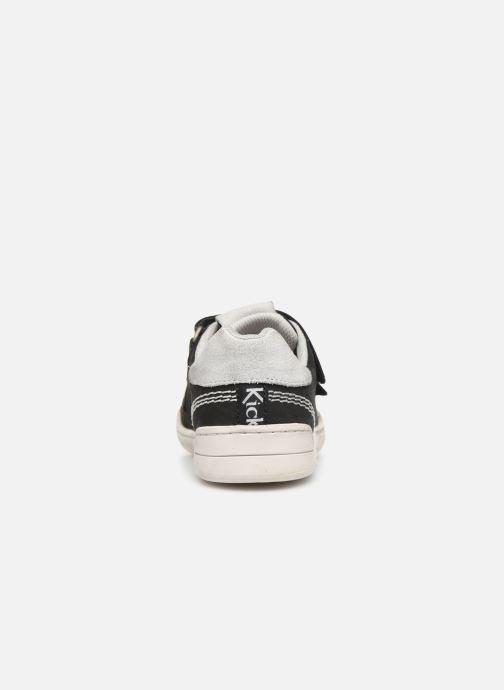 Sneaker Kickers Wizz schwarz ansicht von rechts