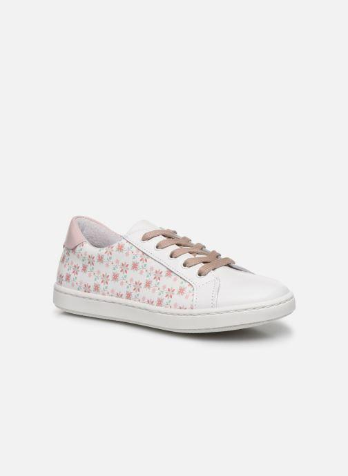 Baskets I Love Shoes JOFLOW LEATHER Blanc vue détail/paire