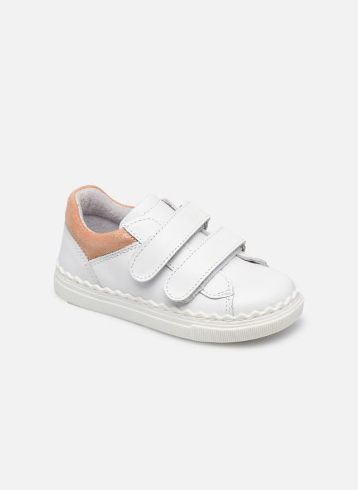 Baskets I Love Shoes JOCROK LEATHER Blanc vue détail/paire