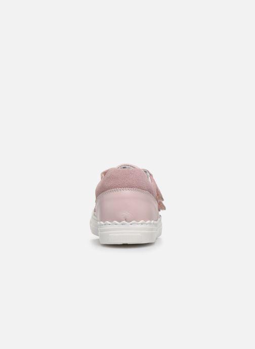 Deportivas I Love Shoes JOCROK LEATHER Rosa vista lateral derecha