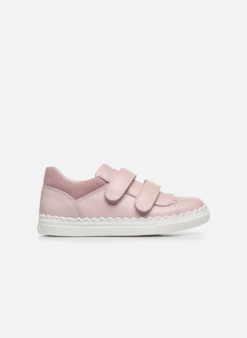 Deportivas I Love Shoes JOCROK LEATHER Rosa vistra trasera