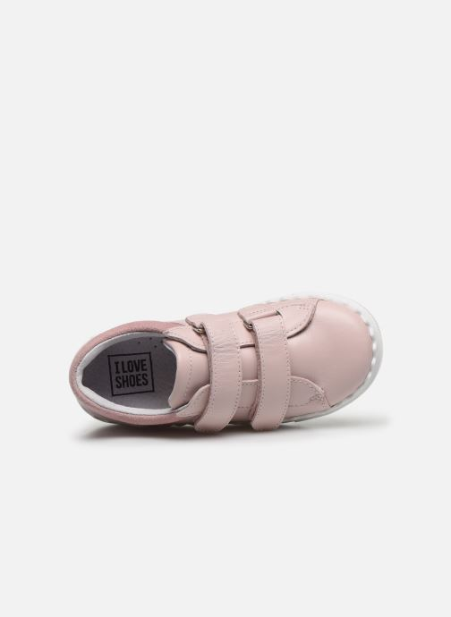 Sneakers I Love Shoes JOCROK LEATHER Rosa immagine sinistra