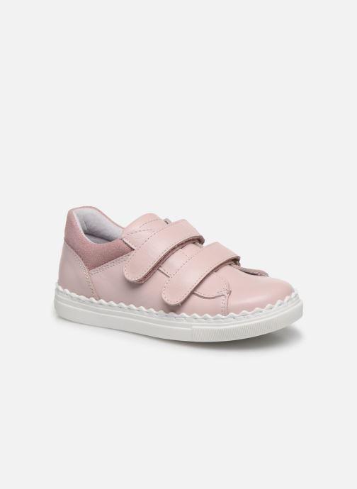 Baskets I Love Shoes JOCROK LEATHER Rose vue détail/paire