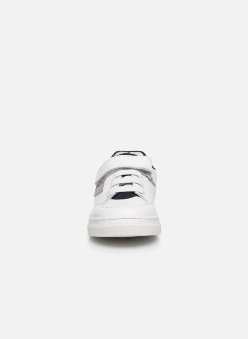 Baskets I Love Shoes JOKER LEATHER Blanc vue portées chaussures