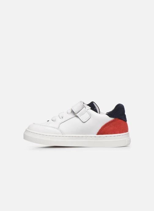 Baskets I Love Shoes JOKER LEATHER Blanc vue face