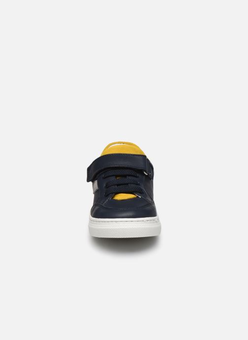 Baskets I Love Shoes JOKER LEATHER Bleu vue portées chaussures