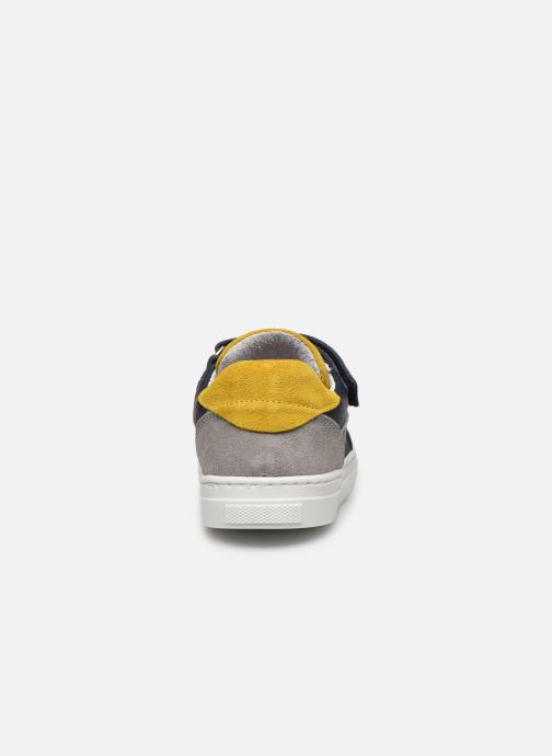Baskets I Love Shoes JOKER LEATHER Bleu vue droite
