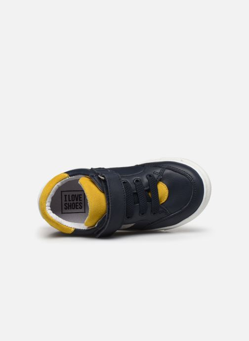 Sneakers I Love Shoes JOKER LEATHER Azzurro immagine sinistra