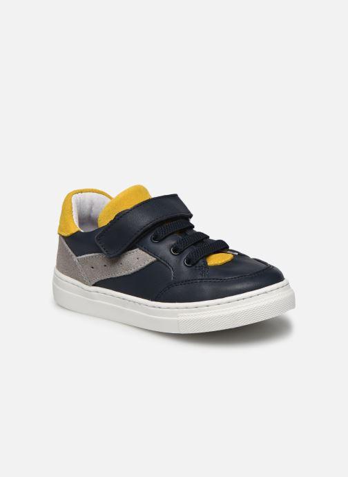 Baskets I Love Shoes JOKER LEATHER Bleu vue détail/paire