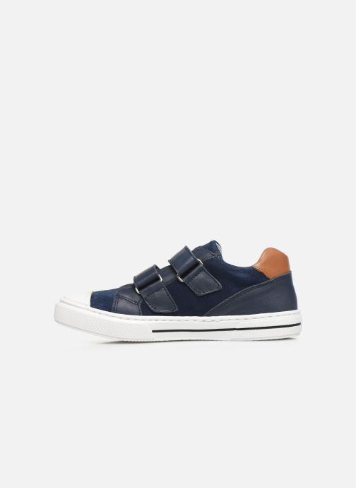Baskets I Love Shoes JOMINO LEATHER Bleu vue face