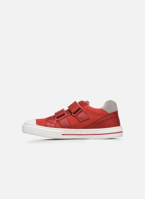 Deportivas I Love Shoes JOMINO LEATHER Rojo vista de frente
