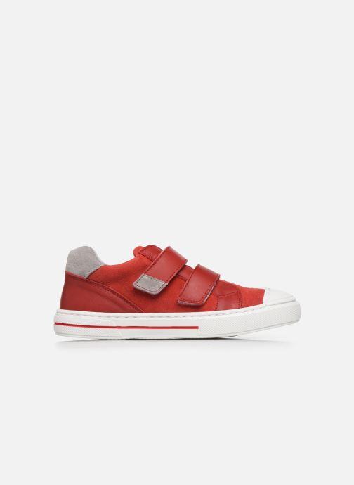 Baskets I Love Shoes JOMINO LEATHER Rouge vue derrière