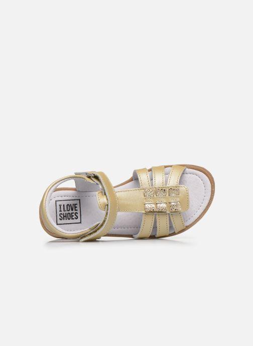 Sandalias I Love Shoes JOLANA LEATHER Beige vista lateral izquierda