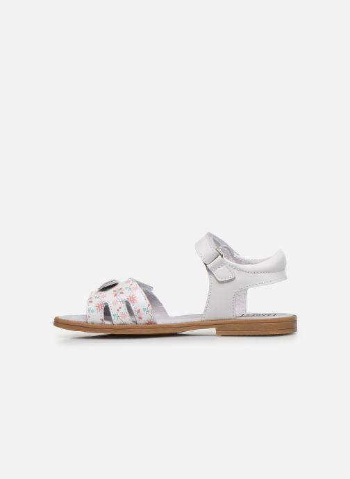 Sandales et nu-pieds I Love Shoes JOUNA LEATHER Blanc vue face