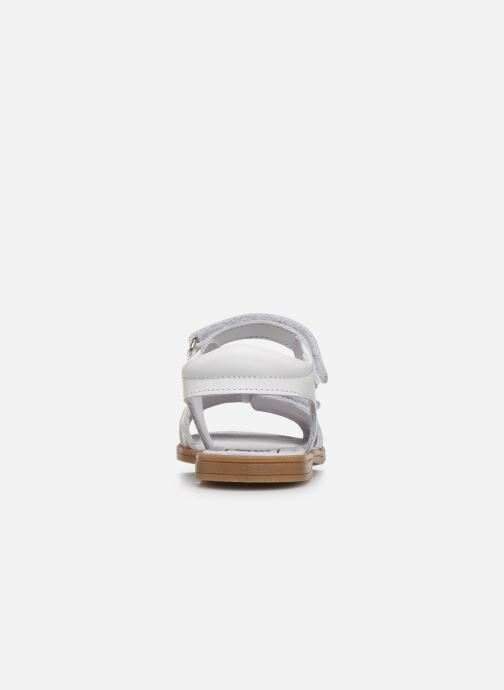 Sandalias I Love Shoes JOUNA LEATHER Blanco vista lateral derecha
