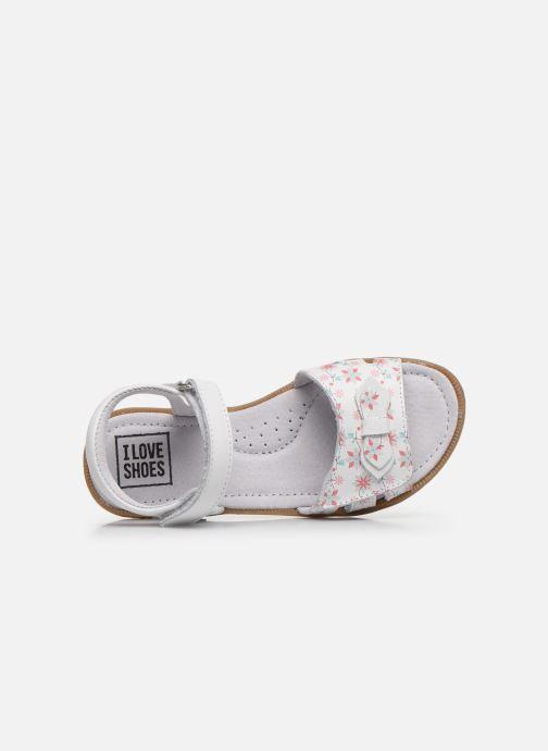 Sandali e scarpe aperte I Love Shoes JOUNA LEATHER Bianco immagine sinistra