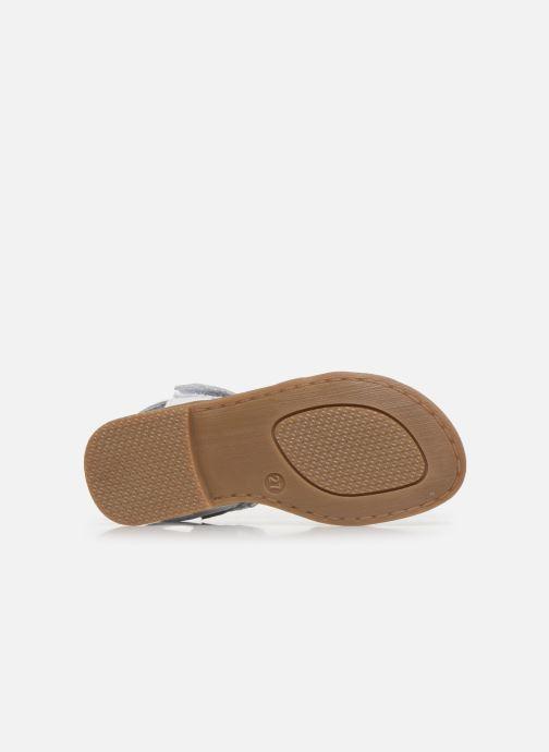 Sandales et nu-pieds I Love Shoes JOUNA LEATHER Blanc vue haut