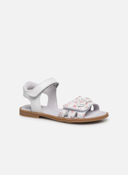 Sandales et nu-pieds I Love Shoes JOUNA LEATHER Blanc vue détail/paire