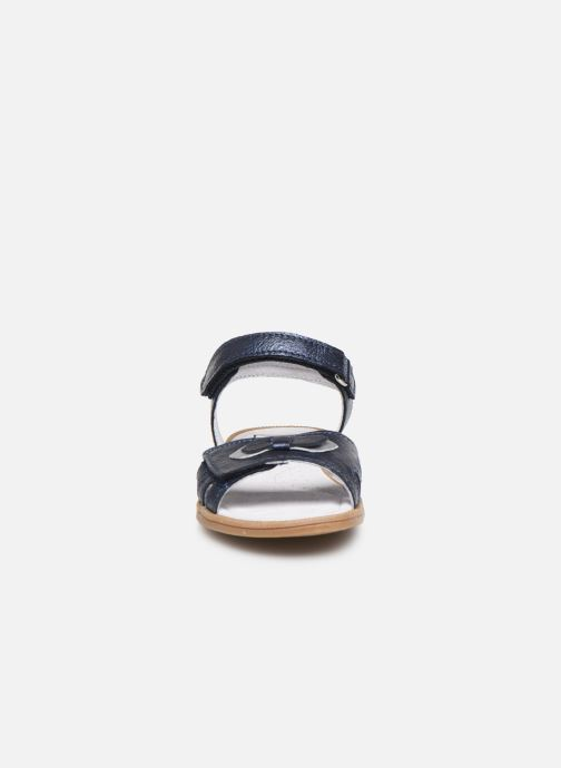 Sandali e scarpe aperte I Love Shoes JOUNA LEATHER Azzurro modello indossato