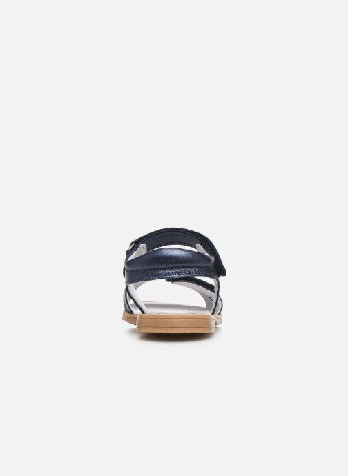 Sandalias I Love Shoes JOUNA LEATHER Azul vista lateral derecha