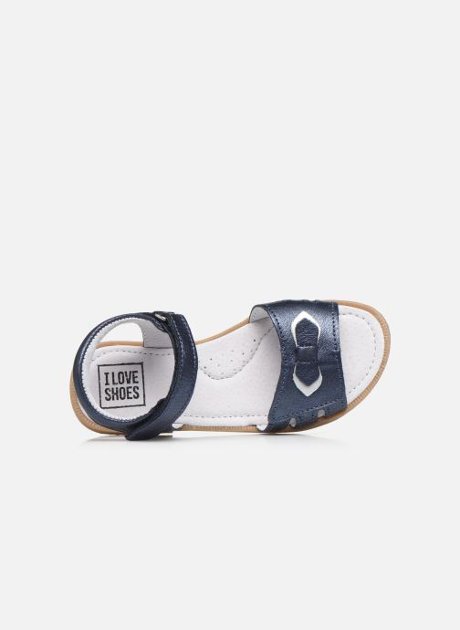 Sandalias I Love Shoes JOUNA LEATHER Azul vista lateral izquierda