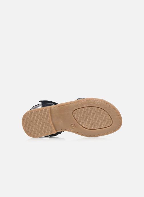 Sandalias I Love Shoes JOUNA LEATHER Azul vista de arriba