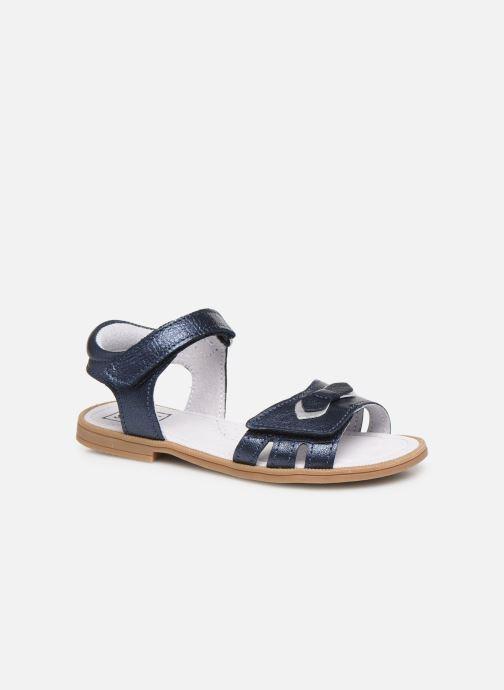 Sandalias I Love Shoes JOUNA LEATHER Azul vista de detalle / par