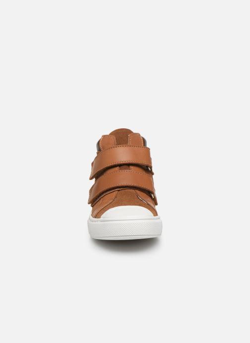Sneakers I Love Shoes JOSSEY LEATHER Marrone modello indossato