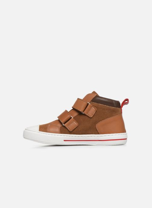 Sneakers I Love Shoes JOSSEY LEATHER Bruin voorkant