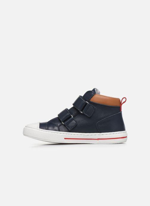 Baskets I Love Shoes JOSSEY LEATHER Bleu vue face