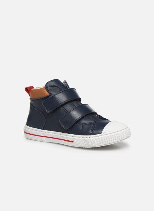 Baskets I Love Shoes JOSSEY LEATHER Bleu vue détail/paire