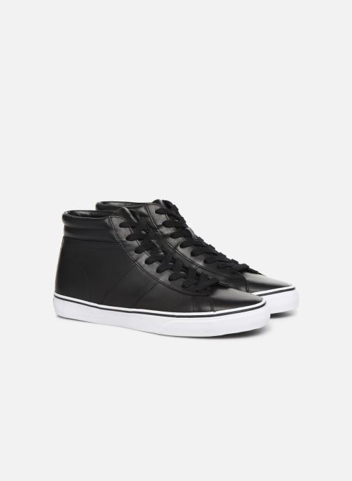 Baskets Polo Ralph Lauren Shaw-Sneakers-Vulc Noir vue 3/4