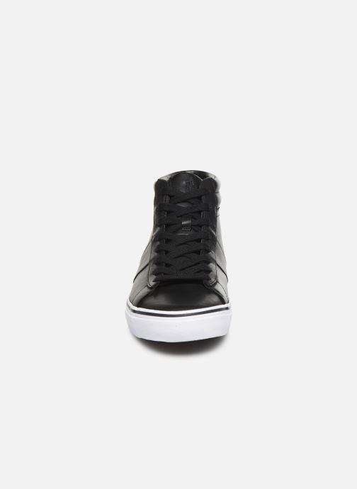 Baskets Polo Ralph Lauren Shaw-Sneakers-Vulc Noir vue portées chaussures
