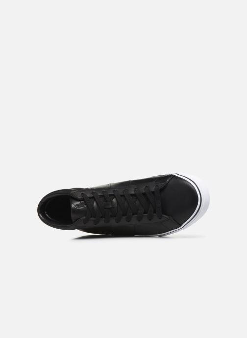 Sneaker Polo Ralph Lauren Shaw-Sneakers-Vulc schwarz ansicht von links