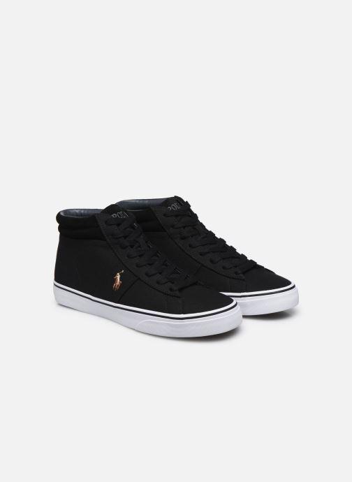 Deportivas Polo Ralph Lauren Shaw-Sneakers-Vulc Negro vista 3/4