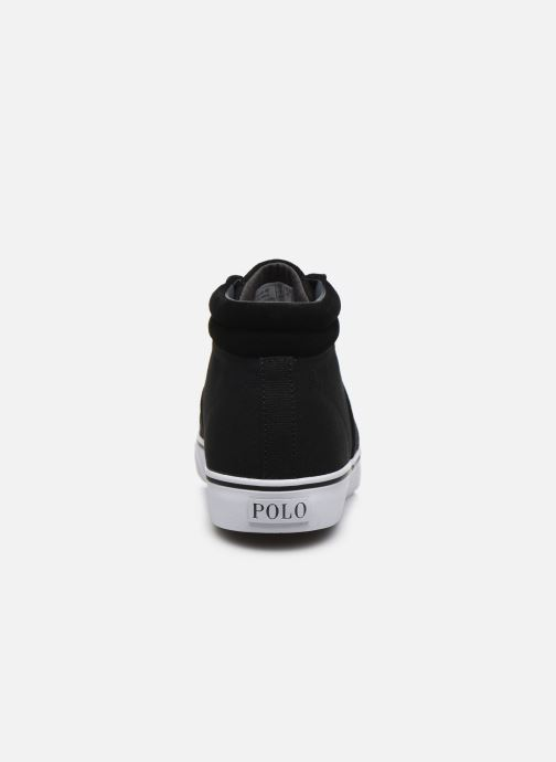 Deportivas Polo Ralph Lauren Shaw-Sneakers-Vulc Negro vista lateral derecha
