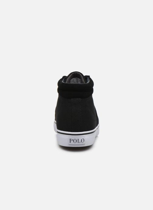 Baskets Polo Ralph Lauren Shaw-Sneakers-Vulc Noir vue droite