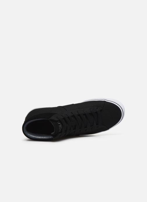 Deportivas Polo Ralph Lauren Shaw-Sneakers-Vulc Negro vista lateral izquierda