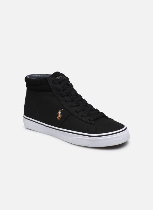 Deportivas Polo Ralph Lauren Shaw-Sneakers-Vulc Negro vista de detalle / par