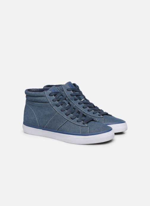 Baskets Polo Ralph Lauren Shaw-Sneakers-Vulc Bleu vue 3/4