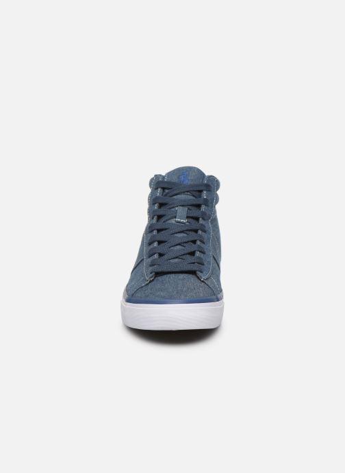 Baskets Polo Ralph Lauren Shaw-Sneakers-Vulc Bleu vue portées chaussures