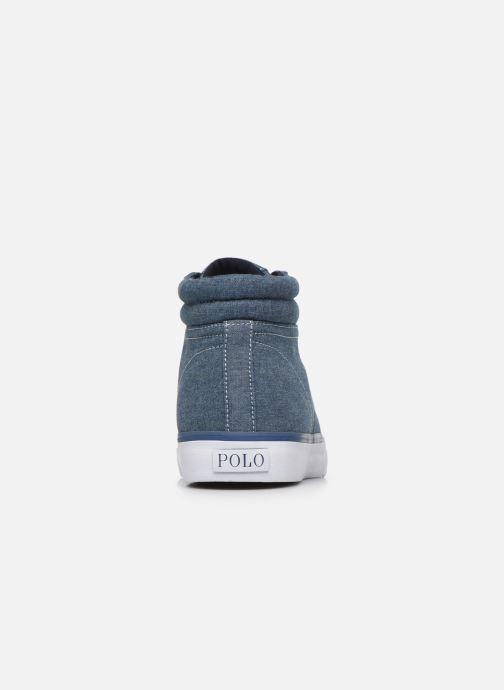 Baskets Polo Ralph Lauren Shaw-Sneakers-Vulc Bleu vue droite