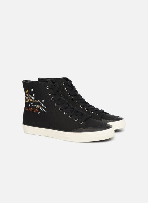Sneakers Polo Ralph Lauren Solomon-Ne-Sneakers-Vulc Zwart 3/4'