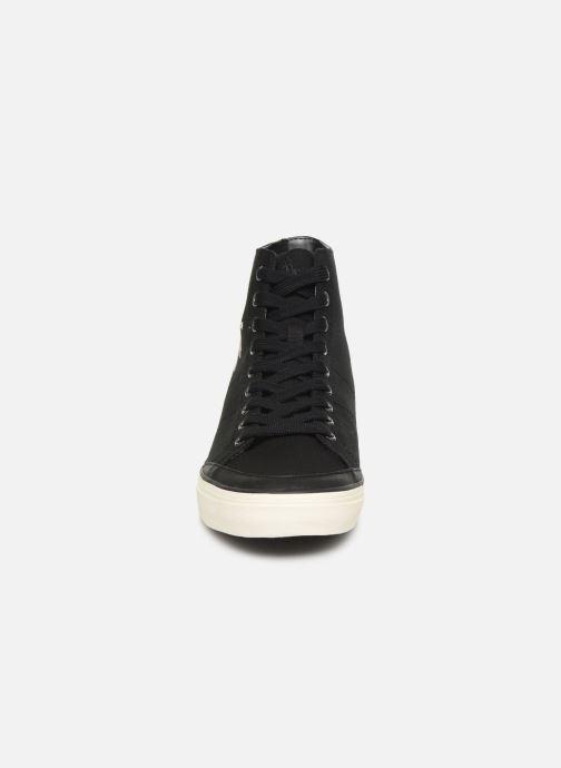 Baskets Polo Ralph Lauren Solomon-Ne-Sneakers-Vulc Noir vue portées chaussures